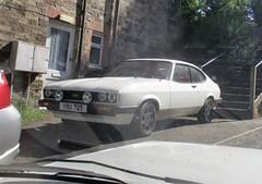 1978 Ford Capri 1600 (occama) Tags: yru72t ford capri 1600 1978 white old car cornwall uk british dagenham
