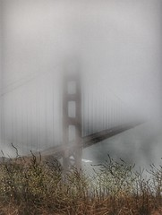 Almost mist it! (Gunn Shots.) Tags: goldengatebridge fog karlthefog bridge mist