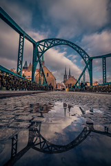 After the rain (Vagelis Pikoulas) Tags: rain reflection reflections bridge wroclaw poland europe tokina city cityscape urban canon 6d may spring 2018 travel