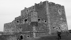 Blackness Castle 02 (byronv2) Tags: blackness blackesscastle castle chateau fortress firthofforth westlothian scotland 15thcentury history architecture building river riverforth rnbforth rnbfirthofforth blackandwhite blackwhite bw monochrome sirgeorgecrichton