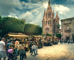 A Day in San Miguel (San Miguel Adventure) Tags: sanmiguel jardin church centro familiestogether sunshine parroquia