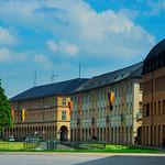 Karlsruhe, Zirkelbauten am Schloßplatz thumbnail