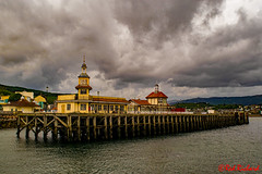 Dunoon Pier 2 (red.richard) Tags: dunoon pier maritime sky clouds scotland
