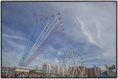 Red Arrows (CliveDodd) Tags: westonsupermare air day red arrows