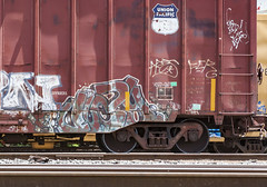 (o texano) Tags: houston texas graffiti trains freights bench benching vizy vizie dts defthreats a2m adikts
