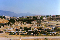 Ancient Corinth (Andy961) Tags: greece corinth antiquity excavations ruins landscape