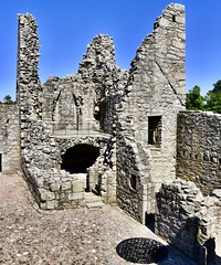 Tolquhon Castle est 15th Century - Aberdeen Scotland 2018 (DanoAberdeen) Tags: candid amateur 2018 danoaberdeen aberdeen grampian ruins abandoned neglected tired old ellon tarves scottish scottishcastle ancient museum summer winter spring autumn weathered historicscotland olddays restored 15thcentury forbesfamily bonnyscotland bonnie ecosse escocia aberdeenshire abdn abz aberdeenscotland scotland schotland scottishhighlands highlands landscape landmark szkocja stoczni countryside clouds caledonia vintage bluesky blue nikond750 weather escotia uk unitedkingdom scottishcastleruins castleruins scottishruins touristattraction tolquhoncastle albaaosmhor sirwilliamforbes building architecture walks plaque scottishhistory renaissance residence laird conservtion preservation tower turret gargoyle