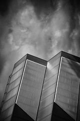 Decode (Keith Midson) Tags: monash university building architecture clouds patterns