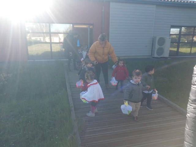 Photo 1 - Chasse aux oeufs à la crèche familiale