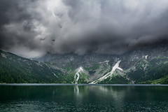 Before the storm (ModestSloth) Tags: clouds storm rain mountains tatry poland lake hike hiking
