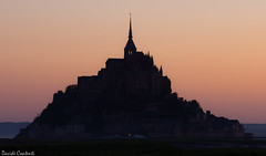 sunset at Mont Saint Michel (camperpida) Tags: sunset mont saintmichel saint michel francia france normandia normandy tramonto sole sun