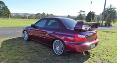 Subaru Impreza WRX (FotoSleuth) Tags: subaru impreza wrx showcar custom gd