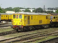 Network Rail 73138 @ Derby RTC (Sim0nTrains Photos) Tags: midlandmainline mml themidlandmainline derby derbyrtc 73138 class73 electrodiesellocomotive britishrailclass73 gbrf englishelectric class731 networkrail networkrailclass73