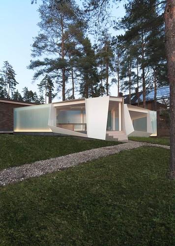 Modern House Design : 2071 Gazebo / za bor architects via onreact