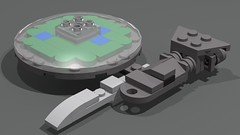 Cloud 9 (GBDanny96) Tags: lego moc battlestar galactica cloud 9 luxury liner space ship spaceship starship micro microspacetopia