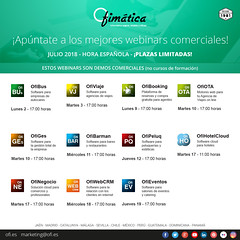 Webinars - Julio (ofisoftware) Tags: software ofimatica julio webinar gestion programas