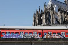 WEISE / SETOP / EPSC (rebecca2909) Tags: paintedtrain graffiti graff trains train db deutschebahn deutsche domstadt kölnerdom cologne köln germangraffiti epsc setop weise