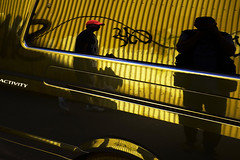 #09 - Black-Red-Gold (Monty May (OBSERVE)) Tags: iserlohn germany street streetphotography