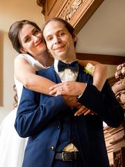 "P1190012 (Andy Sut) Tags: wedding bride groom uk traditional england summer matrimony couple romance love british ""thrumpton hall"" nottingham nottinghamshire"