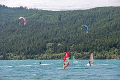 A Surfer's Paradise (MIKOFOX ⌘ Thanks 4 Your Faves!) Tags: canada kitesurfing waves lake britishcolumbia flickred xt2 water vancouverisland learnfromexif july windsurfing landscape provia sail fujifilmxt2 mikofox showyourexif summer xf18135mmf3556rlmoiswr