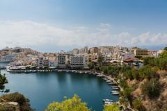 Greece. Crete. Agios Nikolaos (v_mats) Tags: city water 2470 canonef2470mmf28liiusm canoneos5dmarkiii canon architecture building sky lakevoulismeni lake agiosnikolaos crete greece