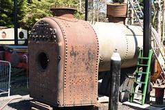 No 70 SCR 05/07/18 (Woolwinder) Tags: locomotiveboiler 060t no70 hudswellclarke manchestershipcanal swindoncrickladerailway wiltshire england