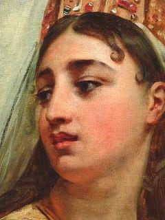 GROS Jean-Antoine,1811 - Clovis et Clotilde (Petit Palais) - Detail 46