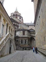 Path to the Cathedral (SixthIllusion) Tags: cathedral bergamo italy travel travelling lombardia architecture