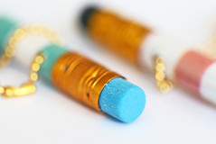 """Macro Mondays """"Eraser(s)"""" (eleni m) Tags: macromondays erasers macro eraser two hk dof bokeh gum stuf hmm"""