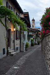 Jun 26, 2018 (pavelkhurlapov) Tags: street lamp morning church tree door windows flowers earlymorning cityscape tower cloudy