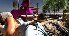 #Giantess #GiantMeshAvatar (Chioma Namiboo Jinn) Tags: voodooinmyblood secondlife sl wl windlights giantess giant explore exploring secondlifeexploration fun beach beautiful beauty best megan prumier vivresavie sofie janic windlight sun sunglasses summer