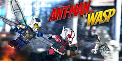 LEGO Ant-Man & The Wasp Preview #2 (MGF Customs/Reviews) Tags: lego antman the wasp ghost paul rudd evangeline lily custom figure minifigure avengers infinity war thanos gauntlet marvel