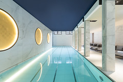 Hotel Lutetia Rive gauche Paris pool