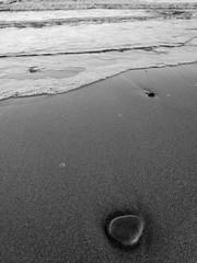 pebble (dreamincontrast) Tags: dreamincontrast dreamincontrastportfolio boddam harbour boats sea fishing dream contrast scotland uk aberdeenshire winter 2018 buchan pebble beach wave waves wash sand tide balmedie