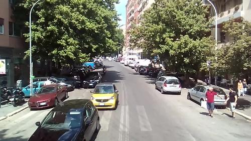 RIPRESE DALL'AUTOBUS COTRAL BIPIANO ROMA-MONTEROTONDO