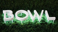 Illuminated Channel Letters (frontsignsllc) Tags: frontsigns signs illuminatedsign bowl la california grass moss green white letters