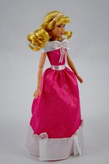 2018 Singing Cinderella Doll - Disney Store Purchase - Deboxed - Standing - Full Left Front View (drj1828) Tags: disneystore singing 1112inch cinderella purchase pink dress deboxed standing
