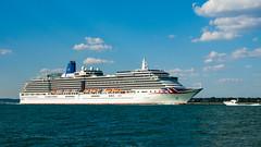 Arcadia (Rui Nunеs) Tags: arcadia ship cruiseship calshot southampton solent vessel fujifilms6500 uk unitedkingdom
