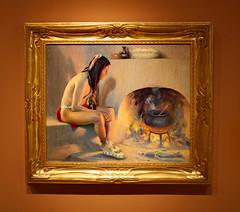 James Museum (ktmqi) Tags: jamesmuseum stpetersburg florida americanart paintings gallery americanwest amer eangerirvingcouse oiloncanvas apueblofireplace