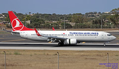 TC-JVF LMML 12-06-2018 (Burmarrad (Mark) Camenzuli Thank you for the 12.2) Tags: airline turkish airlines aircraft boeing 7378f2 registration tcjvf cn 42008 lmml 12062018