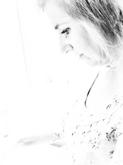Ana (Adisla) Tags: olympus penf mzuiko 17mm f18 bn retrato humano