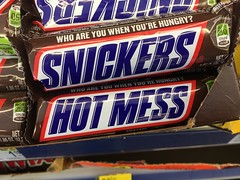 hot mess (timp37) Tags: candy hot mess snickers 2018 walgreens indiana bar