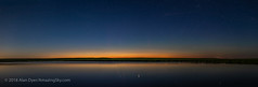 Solstice Twilight Panorama over Prairie Pond (Amazing Sky Photography) Tags: alberta capella nlcs ptgui perpetualtwilight summer twilight colours north orangesky panorama pond prairie reflection sky solstice stars water