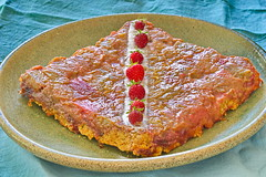 Tarte façon tatin fraise-rhubarbe (fakir50) Tags: cuisine patisserie