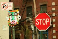 rae bk (Luna Park) Tags: ny nyc newyork streetart raebk lunapark sculpture upcycle figure