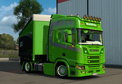 eut2_hq_5b33c35c ([johannes]) Tags: ets2 euro truck simulator 2 exceptionnel way wielton road tuning trailer transport trucks transit trucking transportowe super customs style green lkw lastkraftwagen look low deck lights michelin besser nextgen magpol scania skin stiholt