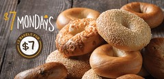 Einstein's 1/22/2018 (Auxiliary Services Marketing) Tags: 7 mondays sodexo dining bagel