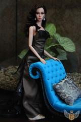 "Sofa Wave ""Faun"" 1:4 (JuliaGart) Tags: wave sofa 14 scale sybarite numina kd kingdomdoll julia gartung furniture for doll devadolls superfrock sherbet"