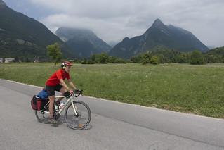 Lungo la Valle dell'Isonzo