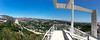 Getty Panorama (Chris Protopapas) Tags: iphone panoramic losangeles gettycenter getty museum skyline freeway architecture brentwood richardmeier california
